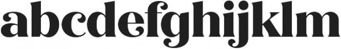 Quiche Flare ExtraBold otf (700) Font LOWERCASE