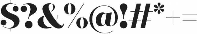 Quiche Stencil ExtraBold otf (700) Font OTHER CHARS