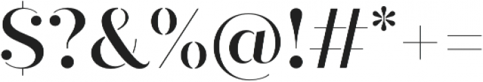 Quiche Stencil Medium otf (500) Font OTHER CHARS