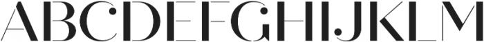 Quiche Stencil Medium otf (500) Font UPPERCASE
