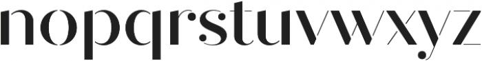 Quiche Stencil Medium otf (500) Font LOWERCASE