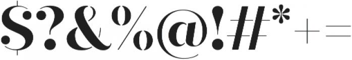 Quiche Stencil otf (700) Font OTHER CHARS