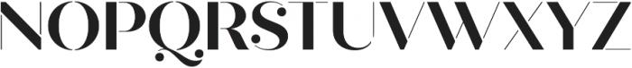 Quiche Stencil otf (700) Font UPPERCASE
