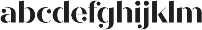 Quiche Stencil otf (700) Font LOWERCASE