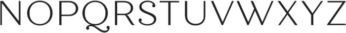 Quiche Text Light otf (300) Font UPPERCASE