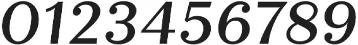 Quiche Text Medium Italic otf (500) Font OTHER CHARS
