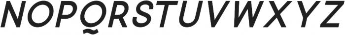 Quick-Bold-Italic otf (700) Font LOWERCASE