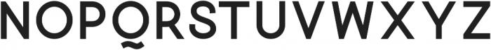 Quick-Bold otf (700) Font LOWERCASE