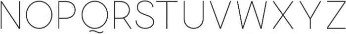 Quick-Light otf (300) Font UPPERCASE