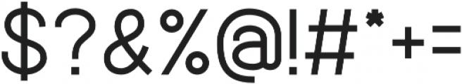 Quick-Regular otf (400) Font OTHER CHARS