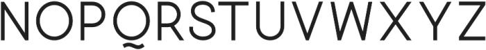 Quick-Regular otf (400) Font LOWERCASE