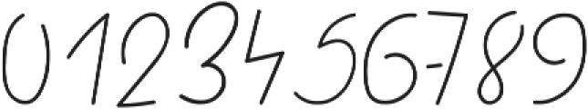 Quick handwritten font otf (400) Font OTHER CHARS