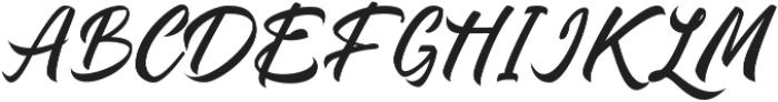 Quick_dream otf (400) Font UPPERCASE