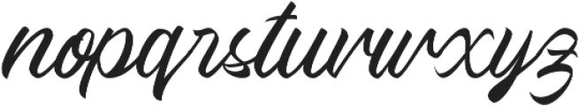 Quick_dream otf (400) Font LOWERCASE