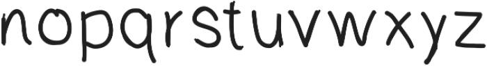 QuicklyBold ttf (700) Font LOWERCASE