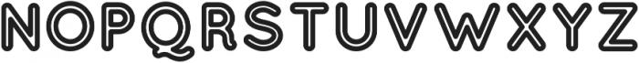 QuicksandOrange Regular otf (400) Font UPPERCASE