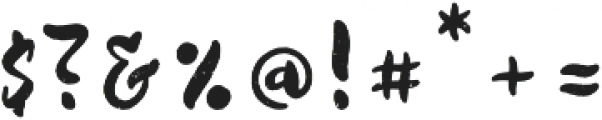 Quicksliver otf (400) Font OTHER CHARS