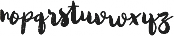 Quicksliver otf (400) Font LOWERCASE
