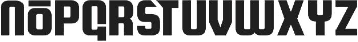 Quickturn otf (400) Font LOWERCASE
