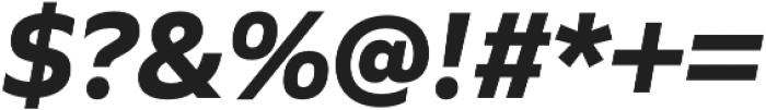 Quiet Sans otf (700) Font OTHER CHARS