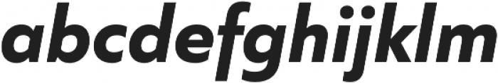 Quiet Sans otf (700) Font LOWERCASE