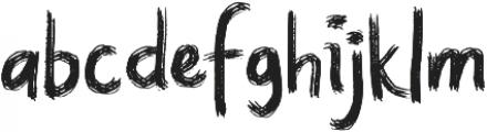 Quiet otf (400) Font LOWERCASE