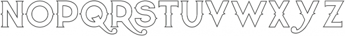 Quiet the Thief EmptyBold otf (700) Font LOWERCASE