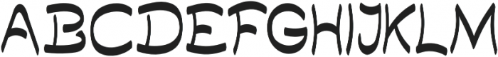 Quilty otf (400) Font UPPERCASE