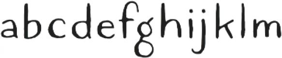 Quimbly Regular otf (400) Font LOWERCASE
