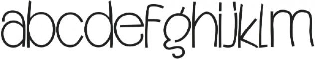 Quincey otf (400) Font LOWERCASE