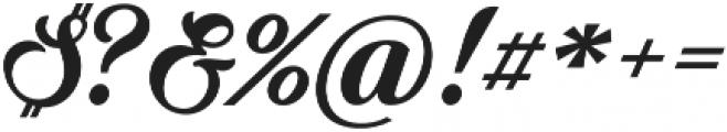 Quincho Script otf (400) Font OTHER CHARS