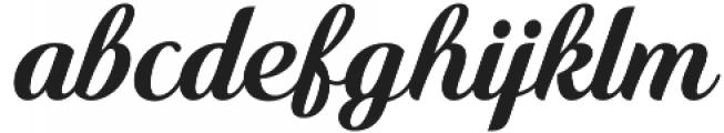 Quincho Script otf (400) Font LOWERCASE