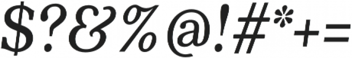 Quincy CF Text Italic otf (400) Font OTHER CHARS