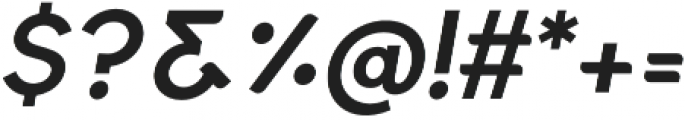 Quinlee Sans Italic otf (400) Font OTHER CHARS