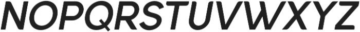 Quinlee Sans Italic otf (400) Font UPPERCASE