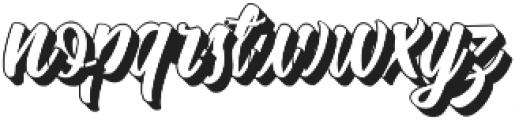 Quinshawna shadow ttf (400) Font LOWERCASE
