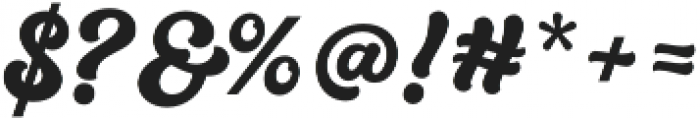 Quintal Script otf (700) Font OTHER CHARS