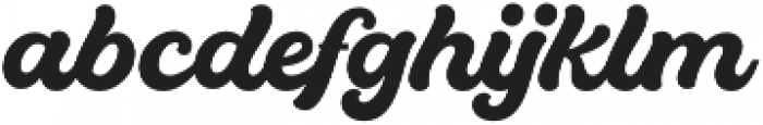 Quintal Script otf (700) Font LOWERCASE