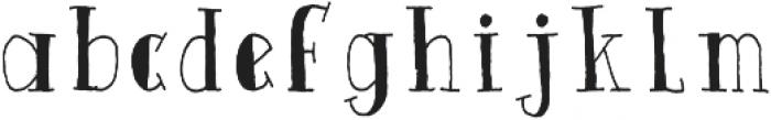 Quinto ttf (400) Font LOWERCASE