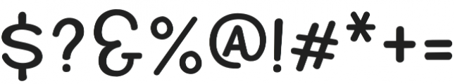 Quintsy Sans Rounded otf (400) Font OTHER CHARS