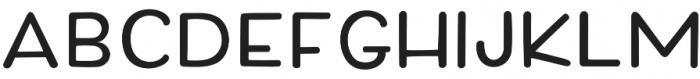 Quintsy Sans Rounded otf (400) Font UPPERCASE