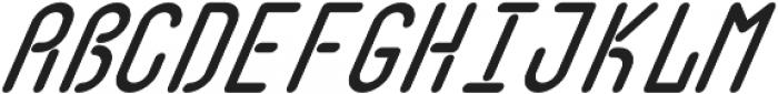 Quirk Italic otf (400) Font UPPERCASE