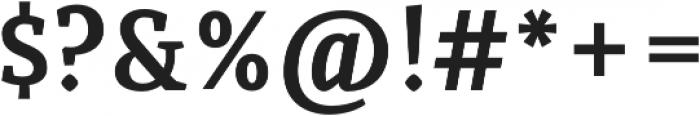 Quiroga Serif Pro Bold otf (700) Font OTHER CHARS