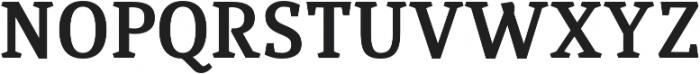 Quiroga Serif Pro Bold otf (700) Font UPPERCASE