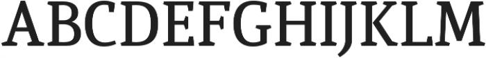 Quiroga Serif Pro DemiBold otf (600) Font UPPERCASE