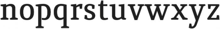 Quiroga Serif Pro DemiBold otf (600) Font LOWERCASE