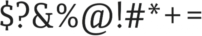 Quiroga Serif Pro Regular otf (400) Font OTHER CHARS