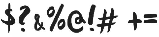 Quish otf (400) Font OTHER CHARS