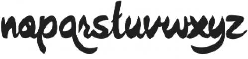Quish otf (400) Font LOWERCASE