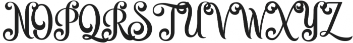 Quiska otf (400) Font UPPERCASE